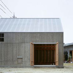 would love this for a studio but insulated and with sky lights.