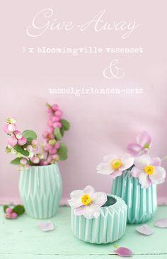bloomingville vasenste mint http://www.wunderschoen-gemacht.de/shop/vasen/500-3er-set-keramikvasen-mint-.html