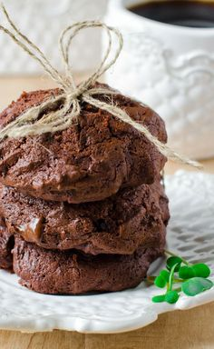 Triple Chocolate Cookies Recipe