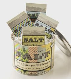 Blended Sea Salt Sampler, 5-Pack by Beautiful Briny Sea on Scoutmob Shoppe