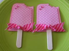 this is cutest Popsicle card I have seen! - Do It Darling