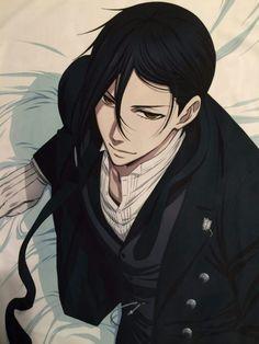 Have some handsome Seba-chan #Sebastian #BlackButler #Kuroshitsuji