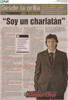 FOX Sports: Entrevista a Juan Manuel Pons en el periódico El Deportivo de Colombia (19/04/13)