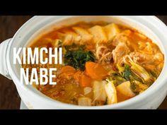 How To Make Kimchi Nabe (Recipe) キムチ鍋の作り方(レシピ) - YouTube