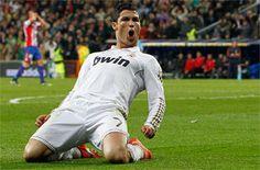 Cristiano Ronaldo celebrando el gol contra el Atlético de Madrid