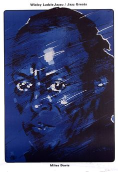 Jazz Greats / Miles Davis,   designer: Waldemar Swierzy  year: 1990