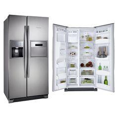 Geladeira/Refrigerador Electrolux Side By Side Painel Blue Touch e Home Bar SH72X 504L Inox -Eletrodomésticos - Side by Side - Walmart.com