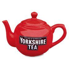 Original-Teekanne 'Yorkshire Tea'        bestellen - THE BRITISH SHOP - typisch englisches Produkt 'very british'