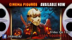 """Chibi Action Figure - """"Jason Vorhees"""" (Character of film series Friday The 13th)  Current toy created exlusively. Exactly same copy can't be. Because of handmade. Toy can be disassembled on 14 parts.  HIGH SIZE OF TOY: 14 CM Paint: Acrylic Material: Plastic #ActionFigures #Toys"""
