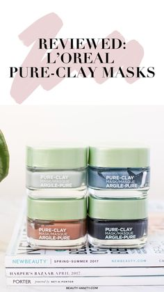 mask Akne Drogerie – Keep up with the times. Loreal Face Mask, Loreal Pure Clay Mask, Face Mask For Blackheads, Acne Face Mask, Face Masks, Skin Mask, Best Clay Mask, Clay Masks, Beauty Products