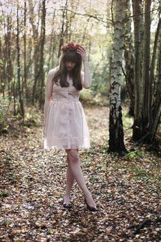 Hannah in Dahlia Rose Dress