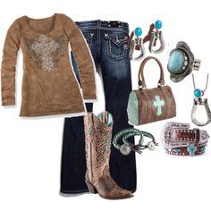 Western weekend outfit