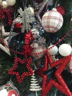 .RED BLACK AND WHITE CHRISTMAS
