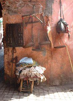 medina de marrakech du MAROC 2005 Morocco マラケシュ ソレイユ SOLEIL original photo