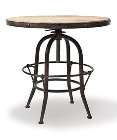 $249.99 Studio Adjustable Side Table by Foreside on zulily today! 23.5'' H x 25.5'' dia