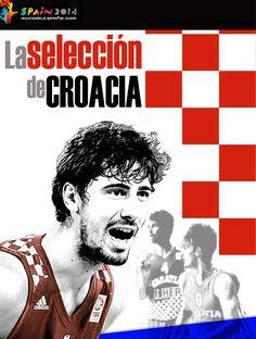 Jugadores convocados por Croacia para el Mundial de Baloncesto #Spain2014