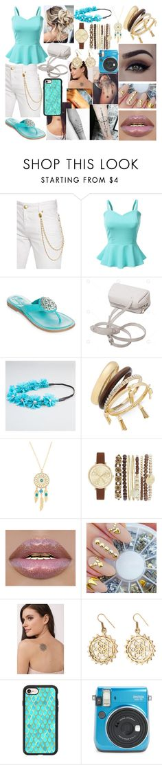 """""""No Real Reason"""" by boredom-is-my-motivation ❤ liked on Polyvore featuring Pierre Balmain, Doublju, Brighton, Full Tilt, Thalia Sodi, Jessica Carlyle, Inked by Dani, Urbiana and Casetify"""