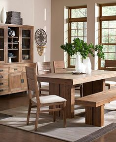 Champagne Dining Room Furniture Collection||| Have my daddy make this for me! :D