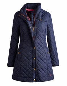 FAIRHURST Womens Quilted Coat