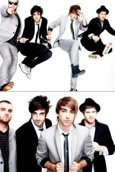 I never knew what they looked like in suits, but I'm pretty sure my panties dropped halfway to china.