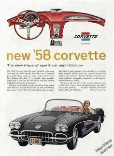 1958 Gorgeous Corvette by Chevrolet