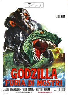 These Rarely-Seen Godzilla Posters Show You A New Face Of The Monster