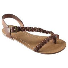 Womens Mossimo Supply Co. Winifred Braided Flat Sandal #$14.99