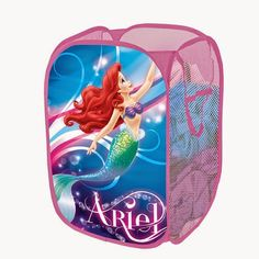 Bedroom Decor Ideas and Designs: How to Decorate a Disney's Princess Ariel Themed Bedroom (The Little Mermaid) Mermaid Bathroom, Mermaid Room, Mermaid Bedding, Baby Mermaid, Bedroom Themes, Kids Bedroom, Bedroom Decor, Bedroom Ideas, Kids Rooms