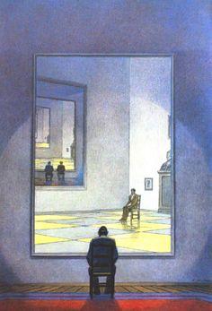 François Schuiten (le Miroir, 1985)