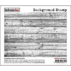 Darkroom Door Background Stamp - Woodgrain