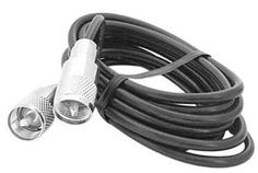 ProComm 3-ft. RG58 Coax Cable with PL259 to PL259 Connector by Procom. $7.45. Details: ? ProComm 3 Ft. CB Coax Jumper Cable PL259 x 2 ? CB antennas can not be expected to perform to their maximum potential if the coaxial cable is unable to deliver what the radio has to offer ? As with all of our cable assemblies, you are quality assured as to what lies between the connectors as we are with the connectors themselves. Here is what you get. ? Stranded center conductor to ...