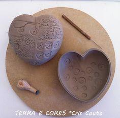 ....mais corações....modelagem by cris couto 73, via Flickr
