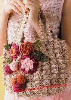 Marvelous Crochet A Shell Stitch Purse Bag Ideas. Wonderful Crochet A Shell Stitch Purse Bag Ideas. Crochet Diy, Bag Crochet, Crochet Handbags, Crochet Purses, Crochet Diagram, Crochet Patterns, Knitting Patterns, Flower Bag, Purse Patterns