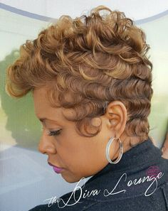 The Diva Lounge Hair Salon Montgomery, AL Larnetta Moncrief, Stylist/ Owner Cute Short Haircuts, Cool Haircuts, Short Hairstyles For Women, Girl Hairstyles, Black Hairstyles, Pixie Haircuts, Trendy Hairstyles, Short Sassy Hair, Short Hair Cuts
