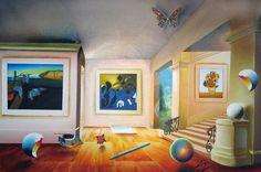 "Original Painting ""Art Room"" by (Fernando de Jesus Oliviera) Ferjo"
