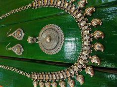 Gargantilla plata diseño hindú