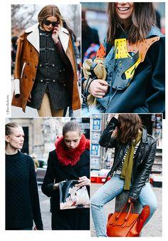 Street looks à la Fashion Week automne-hiver 2015-2016 de Paris | Vogue