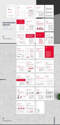 Case Study Design, Book Design, Layout Design, Print Design, Layout Inspiration, Graphic Design Inspiration, Instagram Design, White Paper, Paper Design