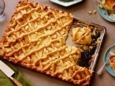 Everyone knows the best part of Thanksgiving is the dessert table. So round yours out with a few classics, like pumpkin pie, but save room for new favorites, too, like salted caramel bread pudding and apple turnovers.