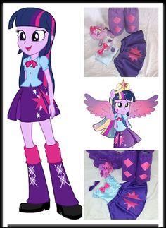 disfraz my little pony equestria girls - Buscar con Google