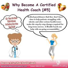 Do you have a passion for helping people achieve REAL lasting health & fitness goals? You may want to explore health coach training as a business or as an add-on to your current practice. Contact Us and let's see if health coaching is right for you.  ....................  According to the Bureau of Labor Statistics Health Coaching is one of the fastest growing professions today! . . #healthcoaching #MetabolicMethodAcademy #MetabolicMethod #healthcoach #wellnesscoach #wellnesscoaching…