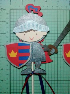 Knight+in+Shining+Armor+Large+Centerpiece+or+by+ThePaperPartyBox,+$6.85