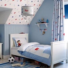 Decoracion futbol futbol pinterest f tbol y b squeda - Habitaciones infantiles marineras ...