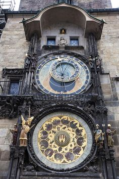 Prague astronomical clock…