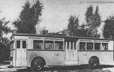 trolibusz, óbuda, 1933
