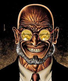 "Yet another Gotham tidbit has emerged. This time it's confirmation that Hugo Strange will show up sometime this season. Gotham showrunner Bruno Heller told IGN: ""Hugo Strange is going to […] Batman Gotham Knight, Batman Arkham, Arte Dc Comics, Batman Comics, Batman Vs, Batman Universe, Dc Universe, Marvel Dc, Hugo Strange"