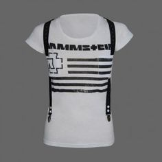"Women's ""Suspender"" Rammstein T-Shirt"