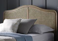 The Loire rattan low foot end bed is a beautiful French inspired frame which combines the beauty of weathered oak, with a rattan headboard to create a design that is elegant and sophisticated.  Each frame is carefully crafted with subtle hand carved detailing that gives the bed a luxurious and opulent feel.  Classically styled, the bed will work equally well in either a traditional or more contemporary interior.  The :Loire features a traditional wooden slatted base system which helps to…