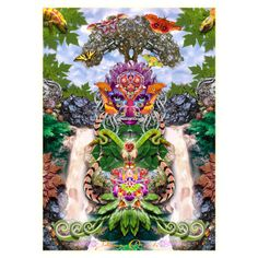 """Nature's Gift"" Darren Minke Bean Bag Cube"