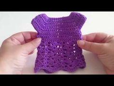 Crochet Doll Dress, Crochet Barbie Clothes, Crochet Amigurumi Free Patterns, Crochet Doll Pattern, Nancy Doll, Crochet Videos, Barbie Dress, Crochet Fashion, Doll Patterns